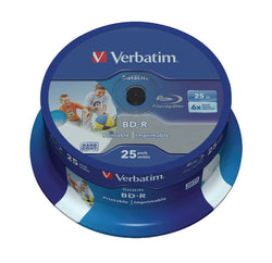 Verbatim 43811 Ð BD-R 'Datalife 25 GB 6x Pack of 25)