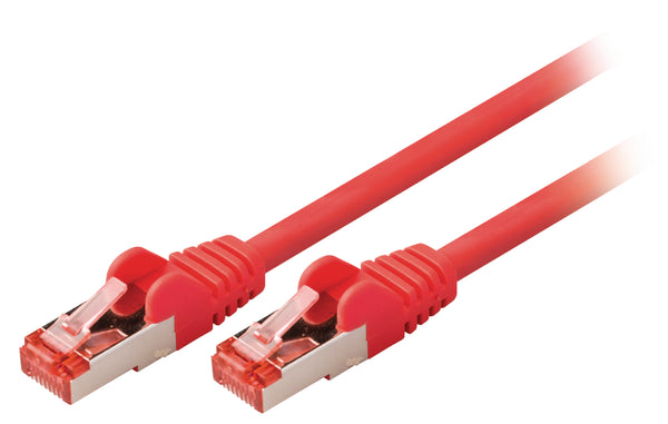 Valueline CAT6 S/FTP Network Cable RJ45 (8P8C) Male - RJ45 (8P8C) Male 10.0 m Red VLCP85221R100