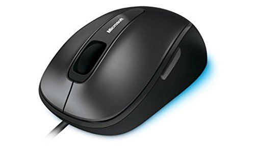 New Microsoft Comfort Mouse 4500 Wired USB Black BlueTrack 4FD-00023