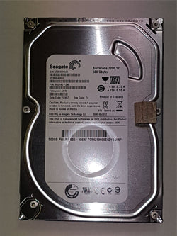 "Seagate 500GB ST3500418AS 9SL142-240 Apple 655-1564F iMac Hard Drive 3.5"" SATA"