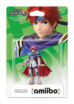Nintendo Amiibo Super Smash Roy Figure