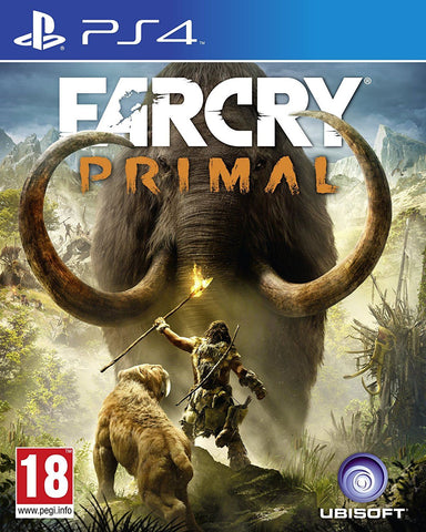 New Sealed Far Cry Primal Action Adventure Hunting Video Game for PS4