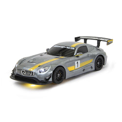 Jamara R/C Transformable Mercedes AMG GT3  With Sound 1:14 Grey