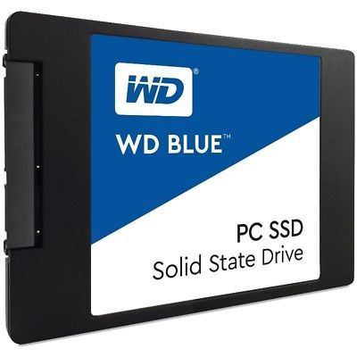 "Western Digital Blue 250GB SATA 2.5"" Solid State Drive Internal SSD WDS250G1B0A"