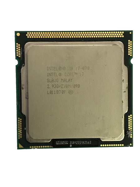 Intel Processor Quad-Core i7-870 2.93ghz CPU SLBJG Socket H LGA1156 iMac A1312