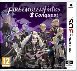 Fire Emblem Fates: Conquest Video Fantasy Adventure Game for Nintendo 2DS/3DS