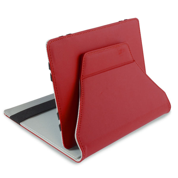"LEO 7"" Universal Red Outer/Grey Inter Tablet Cover"
