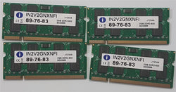 Integral iMac/Macbook  Memory 8GB 4x2GB DDR2 800mhz PC2-6400 SoDimm IN2V2GNXNFI
