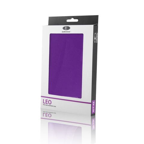 "New Pred8tor LEO 7"" Purple Universal iPad, Android/Samsung Galaxy Tab & Tablet Case/Cover"