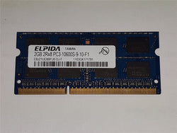 Elpida 2GB(1x2gb) DDR3 1333mhz PC3-10600S EBJ21UE8BFU0-DJ-F Memory Apple Macbook
