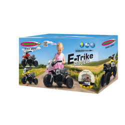 Childrens Electric Ride On E-Trike Racer 3 Wheel Boys & Girls First Motorbike by Jamara Red 3-5 Years