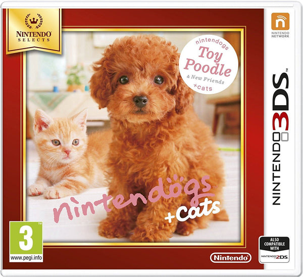 New Nintendogs + Cats: Toy Poodle and New Friends for Nintendo 3DS