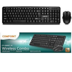 CP-KM007-W Black Wireless Combo, Keyboard & Mouse