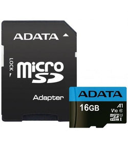 Adata MICROSDHC 16GB UHS-I CLASS10 Micro SD Card With Adapter Samsung Android Phone