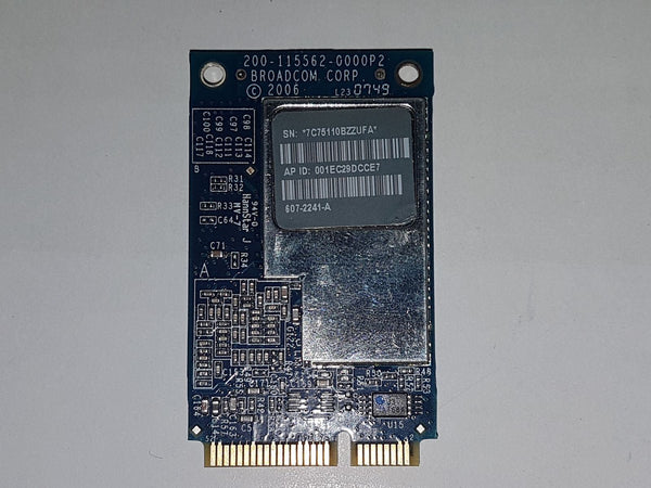 Apple iMac A1224 A1225 Airport Wifi Wireles Card 020-5335-A BCM94321MC 607-2241-A Refurbished