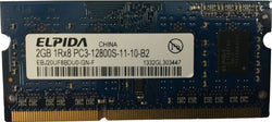 Elpida 2GB DDR3 RAM EBJ20UF8BDU0-GN-F SODIMM DDR3 PC3-12800S 1600mhz Macbook/iMa