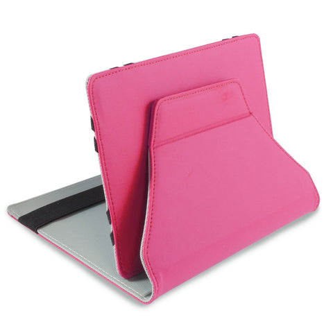 "Pred8tor LEO 7"" - 7.9"" Pink Girls Universal iPad Mini, Android/Samsung Galaxy Tab & Tablet Folio Case/Cover with Integrated Stand"