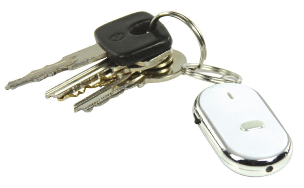 Lost Keys Whistle and Find Home/Car Key Finder Keyring with LED Torch (BXL-KF10)
