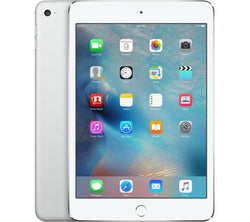 Apple iPad Mini 4 Tablet 128GB WiFi + Cellular Bluetooth Camera Retina Display Silver