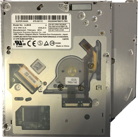 "Apple MacBook Pro 13"" A1278/15"" A1286 678-0611C Internal SATA Optical Drive Pana"