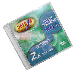 Data-On 8cm Mini (Jewel Case) DVD-R -2X/1.4GB Inkjet