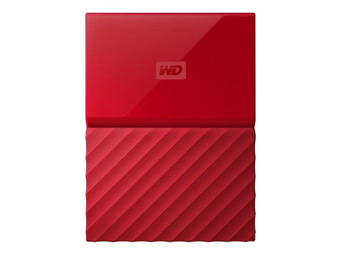 "WD My Passport 1TB Portable 2.5"" External Hard Disk Drive USB 3.0 Powered (RED) WDBYNN0010BRD"