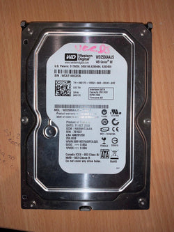 "Dell K017C WD2500AAJS-75B4A0 250GB PC Hard Disk Drive 3.5"" SATA Internal 0K017C"