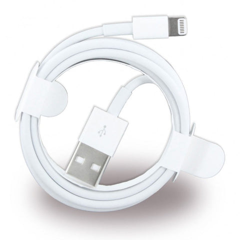 Apple iPhone XS/iPad Air Lightning Data/Sync Charging Cable 1m White iPhone 7,8