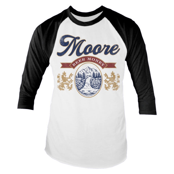 Coors Beer Money Raglan