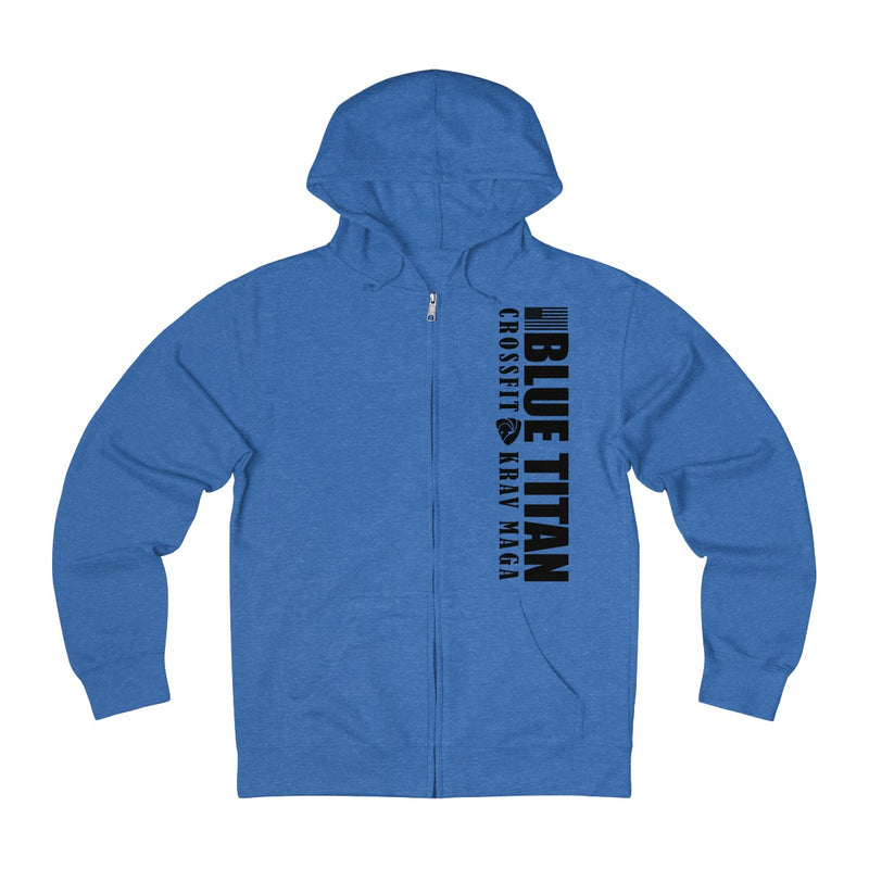 No Cuddling French Terry Zip-up Hoodie