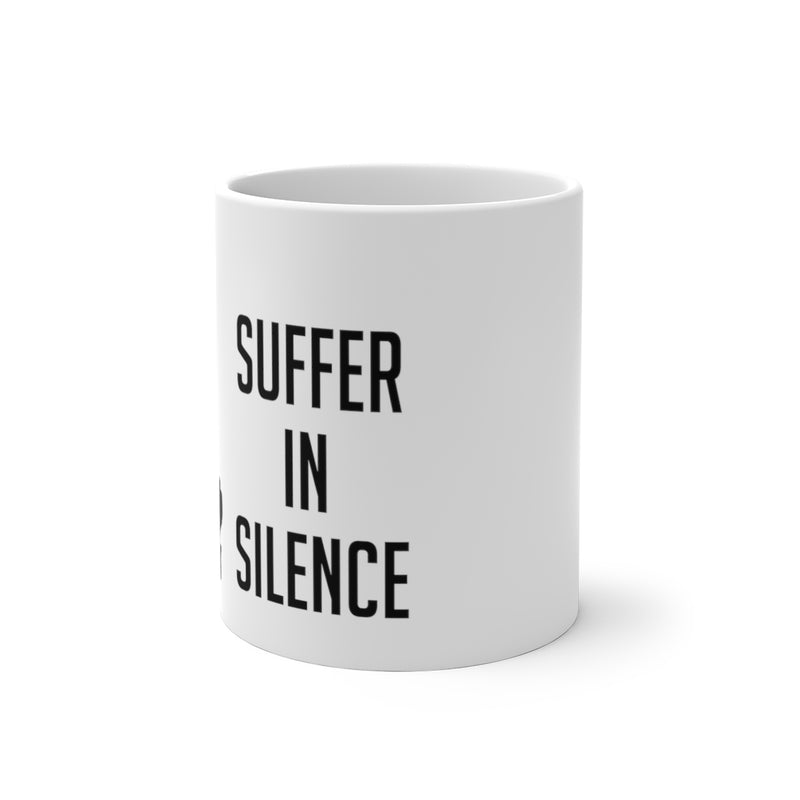 Suffer in Silence - Color Changing Coffee Mug
