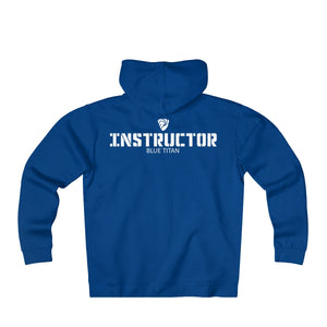 Instructor Heavy Weight Zip-up Hoodie