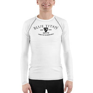 Men's Blue Titan Combat Rash Guard