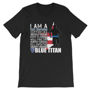 Blue Titan First Responder Race Shirt
