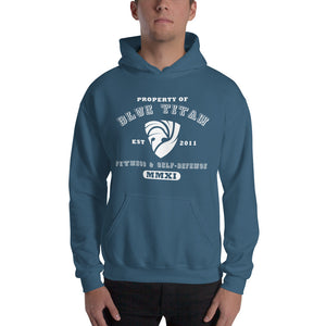 Property Of Blue Titan, Pull-Over Hoodie