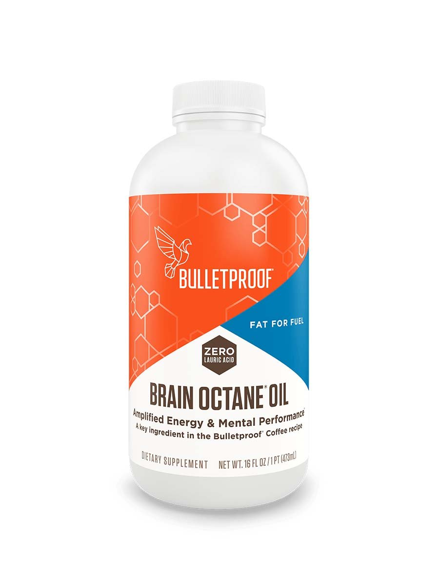 Bulletproof Brain Octane Oil - 16 oz - MCT Oil