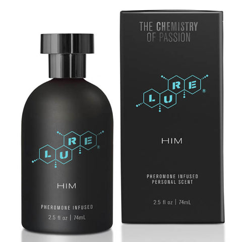 Lure Black Label for Him - Pheromone Spray for Men - 74 ml - Early2bed