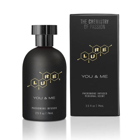 Lure Black Label for You & Me - Unisex Pheromone Spray - 74 ml