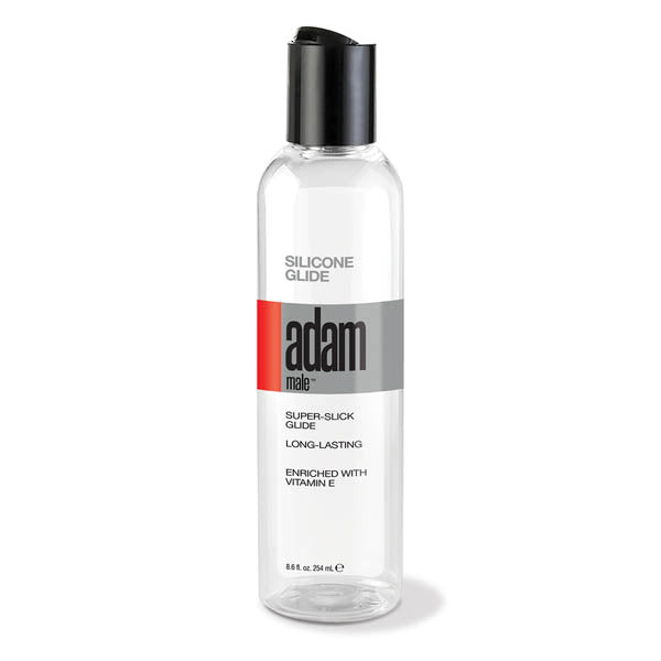 Adam Male Silicone Glide - Silicone Lubricant - 236 ml Bottle - Early2bed