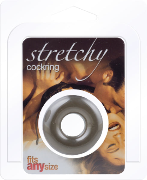 Stretchy Penis Cock Ring- Smoke Donut-Shaped Cock Ring - Early2bed