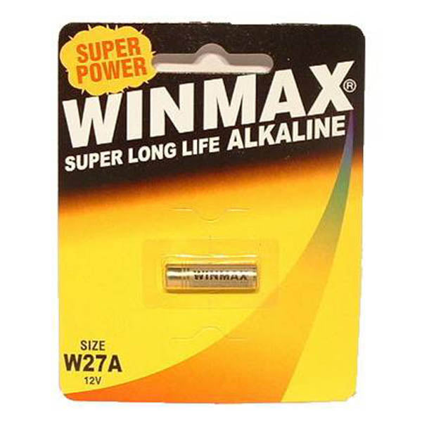 Winmax W27a Alkaline Battery - Alkaline Battery - W27A 1 Pack - Early2bed