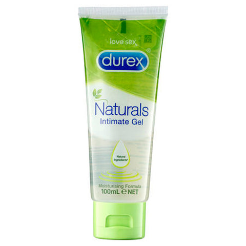 Durex Naturals Intimate Gel - Water Based Lubricant - 100 ml Tube - Early2bed