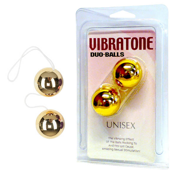 Vibratone - Gold Duo Balls - Early2bed