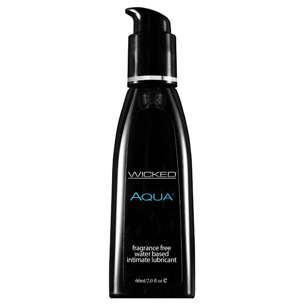 Wicked Aqua - Water Based Lubricant - 60 ml (2 oz) Bottle - Early2bed