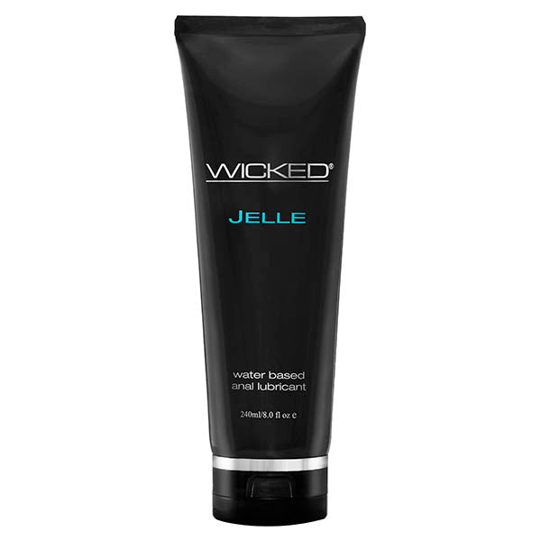Wicked Jelle - Water Based Anal Lubricant - 240 ml (8 oz) Bottle - Early2bed