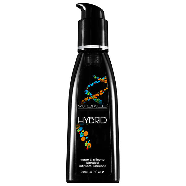 Wicked Hybrid - Water & Silicone Blended Lubricant - 240 ml Bottle - Early2bed