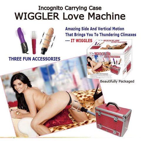 Wiggler Love Machine - Mains Powered Sex Machine - Early2bed