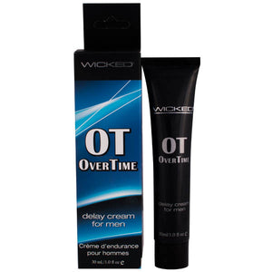 Wicked Overtime - Delay Cream For Men - 30 ml (1 oz) Tube - Early2bed