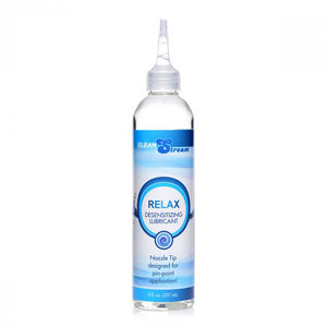 CleanStream Relax Desensitising Lubricant with Nozzle Tip - 237 ml Bottle - Early2bed