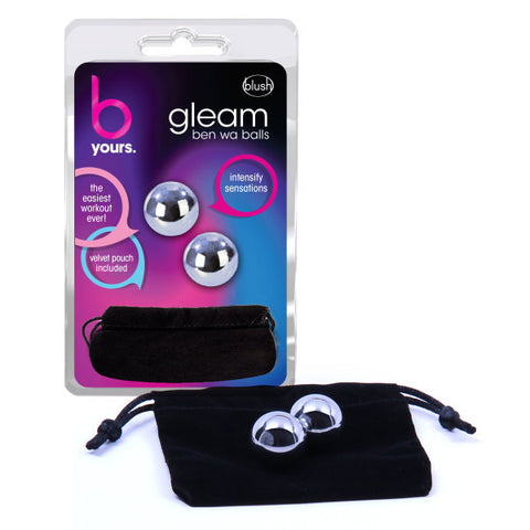 B Yours - Gleam - Stainless Steel Kegel Balls - Early2bed